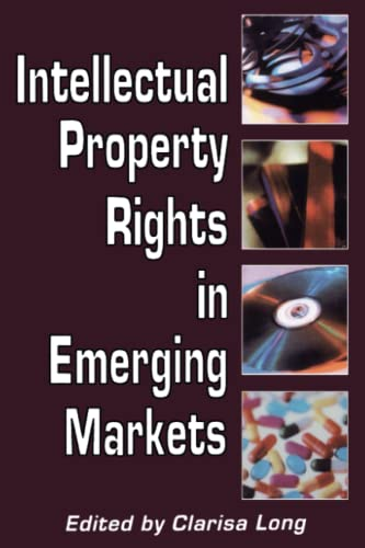 9780844741260: Intellectual Property Rights in Emerging Markets