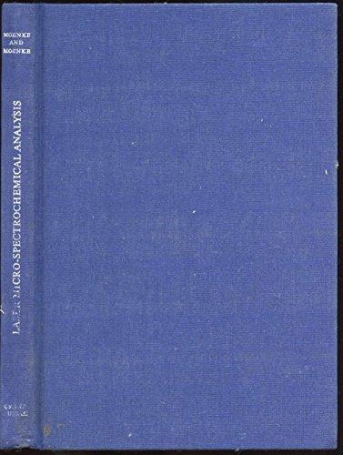LASER MICRO-SPECTROCHEMICAL ANALYSIS.: Moenke, H. And L. Moenke-Blankenburg.