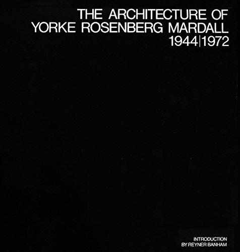 9780844800653: The architecture of Yorke Rosenberg Mardall, 1944/1972