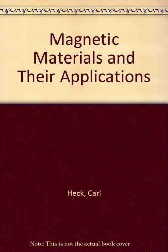 9780844802060: Magnetic materials and their applications