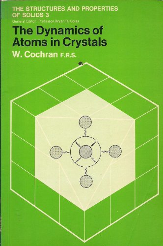 9780844802114: The Dynamics of Atoms in Crystals [Taschenbuch] by