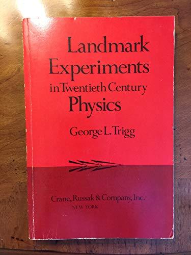 9780844806037: Landmark Experiments in Twentieth-Century Physics