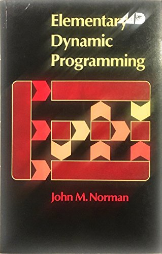 9780844807195: Elementary dynamic programming