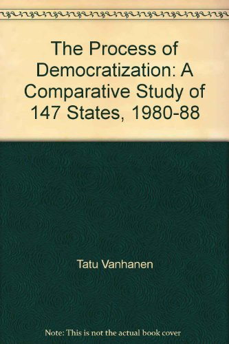 9780844816418: The Process of Democratization: A Comparative Study of 147 States, 1980-88