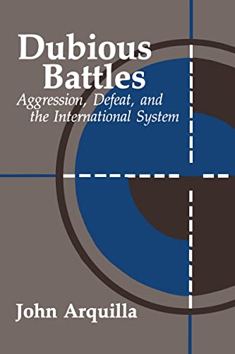 9780844817361: Dubious Battles: Aggression, Defeat, And The International System: Aggression, Defeat, & the International System (A Rand Research Study)