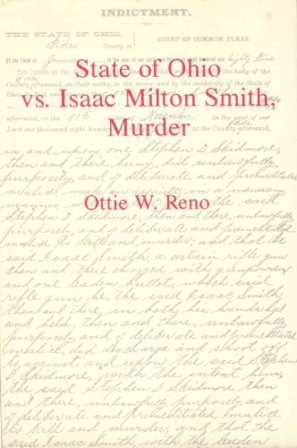 9780845348321: State of Ohio Vs. Isaac Milton Smith, Murder