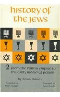 9780845366592: History of the Jews: From the Roman Empire to the Early Medieval Period