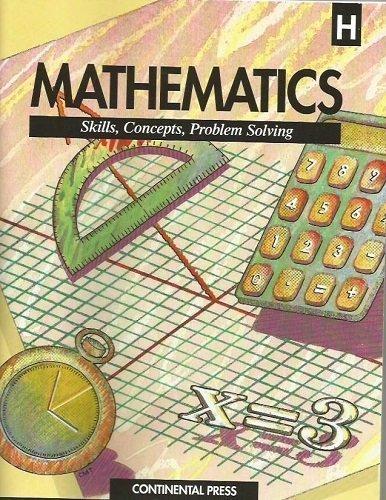9780845401781: Mathematics Skills, Concepts, Problem Solving