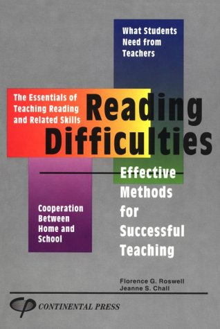 Reading Difficulties: Chall, Jeanne, Roswell, Florence