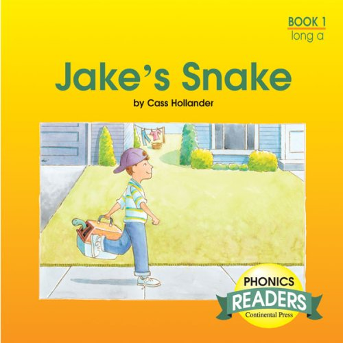 9780845404652: Phonics Books: Phonics Reader: Jake's Snake