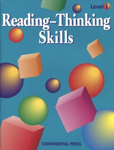 9780845410622: Reading-Thinking Skills (Level E) (Level E)