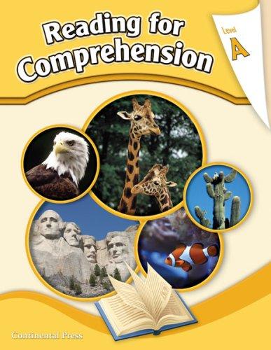 9780845416808: Reading Comprehension Workbook: Reading for Comprehension, Level A - 1st Grade