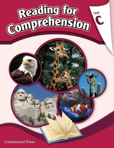 9780845416822: Reading Comprehension Workbook: Reading for Comprehension, Level C - 3rd Grade