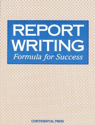 9780845420003: Report Writing