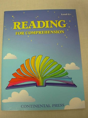 Reading for Comprehension Level G: Thomas Gunning Cindy Franklin