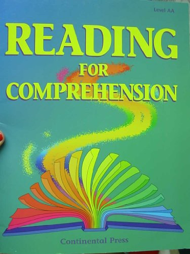9780845429884: Reading for Comprehension: Book Aa Beginning Grade 1