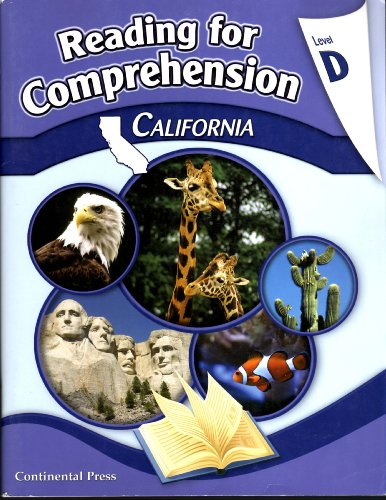9780845432914: Reading for Comprehension California Level D