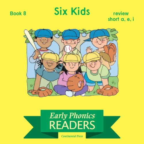 9780845434369: Phonics Books: Early Phonics Reader: Six Kids