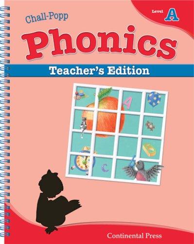 9780845434833: Phonics Books: Chall-Popp Phonics: Annotated Teacher's Edition, Level A - Kindergarten