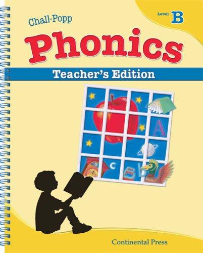 9780845434840: Phonics Books: Chall-Popp Phonics: Annotated Teacher's Edition, Level B - 1st Grade