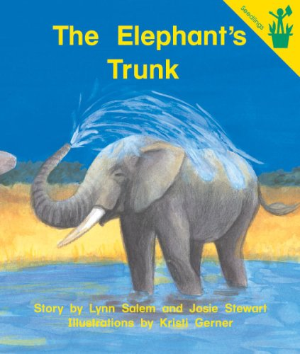9780845442807: Early Reader: The Elephant's Trunk (Lap Book)