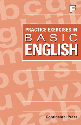 9780845442913: English Workbook: Practice Exercises in Basic English, Level F - 6th Grade