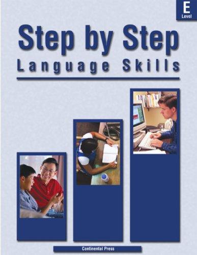 9780845445815: Langauge Skills: Step by Step Language Skills, Level E - 5th Grade