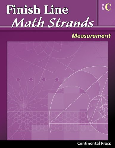 9780845451472: Math Workbooks: Finish Line Math Strands: Measurement, Level C - 3rd Grade