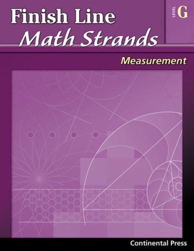 9780845451519: Math Workbooks: Finish Line Math Strands: Measurement, Level G - 7th Grade