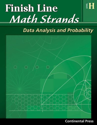 9780845451588: Math Workbooks: Finish Line Math Strands: Data Analysis and Probability, Level H - 8th Grade
