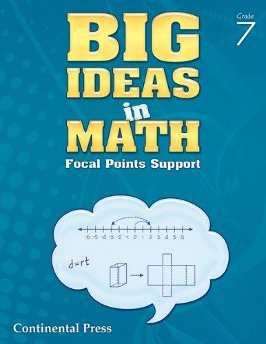 9780845455951: Math Workbook: Big Ideas in Math, Grade 7 Student Workbook