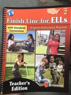 9780845458433: Finish Line for ELLs English Profeciency Practice TE Gr 2