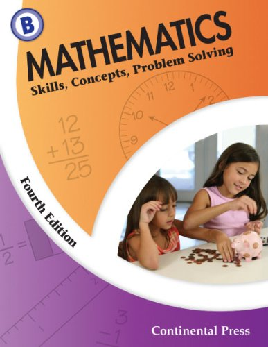 9780845458587: Math Workbooks: Mathematics: Skills, Concepts, Problem Solving, Level B - 2nd Grade