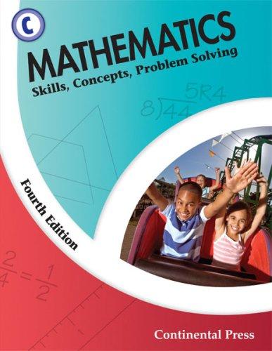 9780845458594: Math Workbooks: Mathematics: Skills, Concepts, Problem Solving, Level C - 3rd Grade