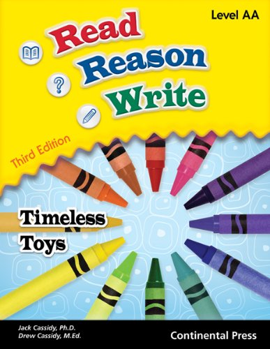 9780845461853: Reading Workbooks: Read Reason Write: Timeless Toys, Level AA (early grade 1)