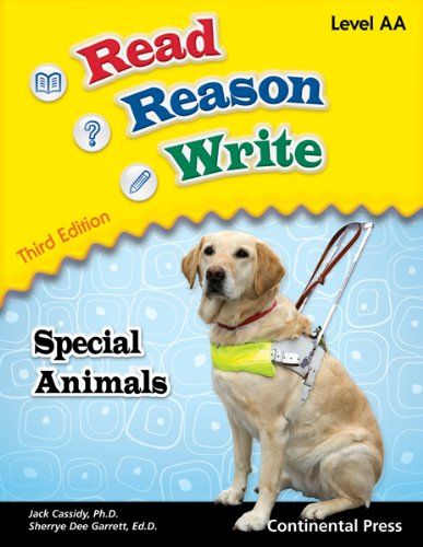 9780845461877: Reading Workbooks: Read Reason Write: Special Animals, Level AA (Early Grade 1)