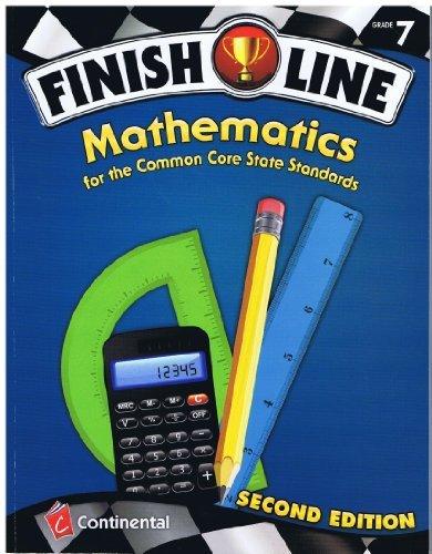 9780845467633: Finish Line Mathematics Common Core Grade 7 2nd Edition