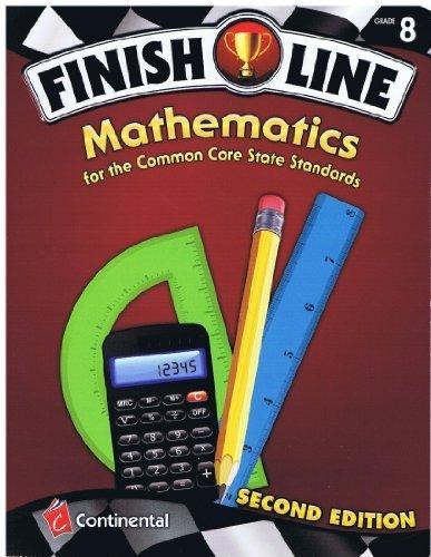 9780845467640: Finish Line Mathematics Common Core Grade 8 2nd Edition (2011-05-03)