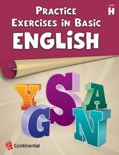 9780845470916: Practice Exercises In Basic English: Level H (Grade 8)