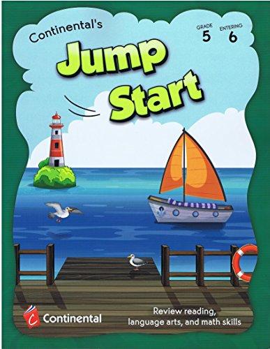 9780845478080: Jump Start - Review Reading, Language Arts, and Math Skills Grade 5 Entering 6