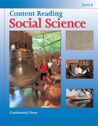 9780845492741: Social Science: Content Reading: Social Science, Level E - 5th Grade