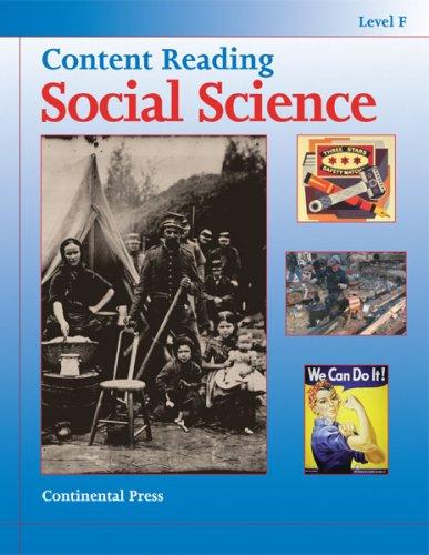 9780845492758: Social Science: Content Reading: Social Science, Level F - 6th Grade