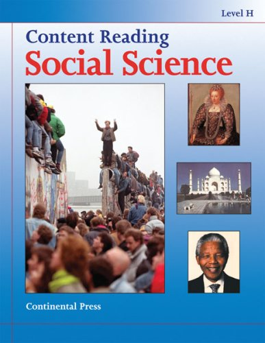 9780845492772: Social Science: Content Reading: Social Science, Level H - 8th Grade