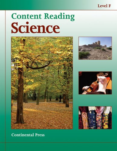 9780845494783: Science Workbook: Content Reading: Science, Level F - 6th Grade