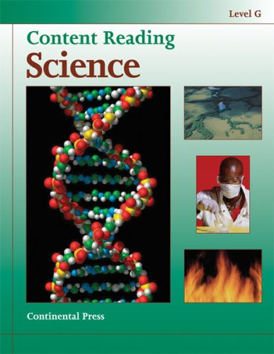 9780845494790: Science Workbook: Content Reading: Science, Level G - 7th Grade