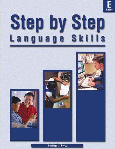 9780845495810: Langauge Skills: Step by Step Language Skills, Level E - 5th Grade