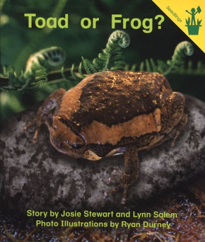 9780845496114: Early Reader: Toad or Frog?