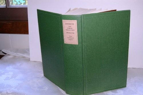 Dickens and Dickensiana: A catalogue of the Richard Gimbel Collection in the Yale University ...