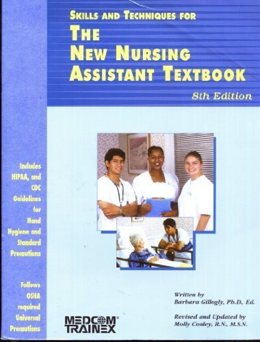 9780846320104: Skills and Techniques for the New Nursing Assistant Textbook