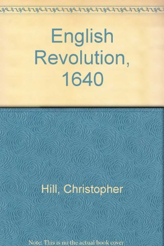 9780846403791: English Revolution, 1640